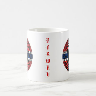 Norway #1 classic white coffee mug