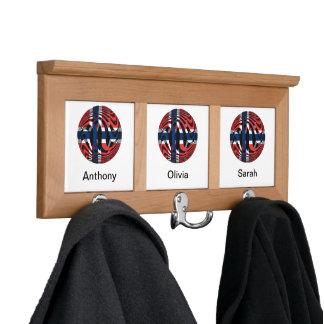 Norway #1 coat racks