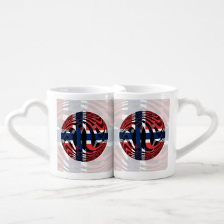 Norway #1 couples' coffee mug set