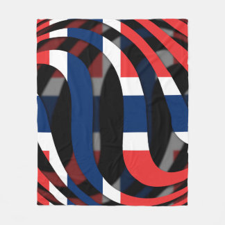 Norway #1 fleece blanket