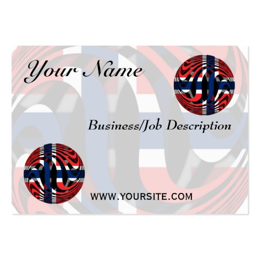 Norway #1 large business cards (Pack of 100)