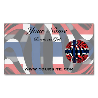 Norway #1 magnetic business cards (Pack of 25)
