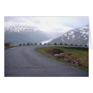 Norway 2008 safety railing greeting card