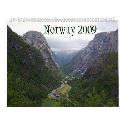 Norway 2009 calendar