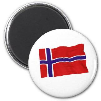 norway 2 inch round magnet