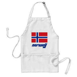 Norway Adult Apron