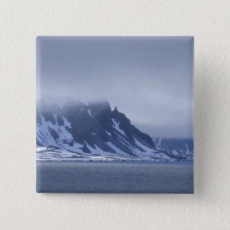 Norway, Arctic Circle, North Atlantic Ocean. Pinback Button