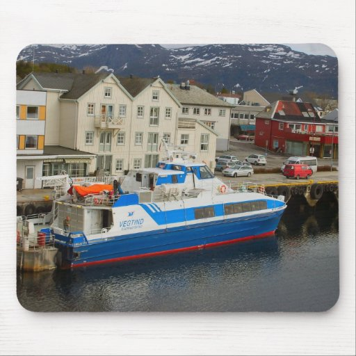 Norway, Bergen Take the water bus Mouse Pad