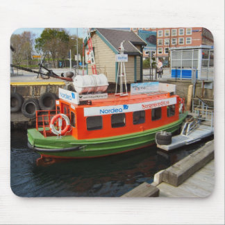 Norway, Bergen,travel by water taxi Mouse Pad