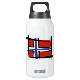 Norway Brush Flag Insulated Water Bottle