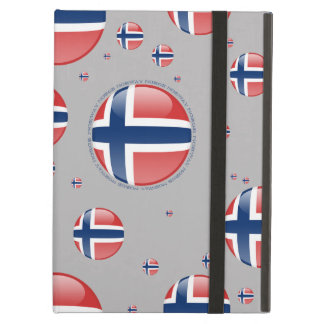 Norway Bubble Flag iPad Air Cover