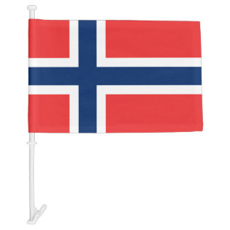 Norway Car Flag