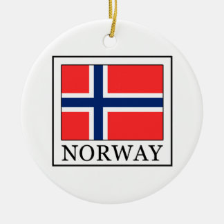 Norway Ceramic Ornament