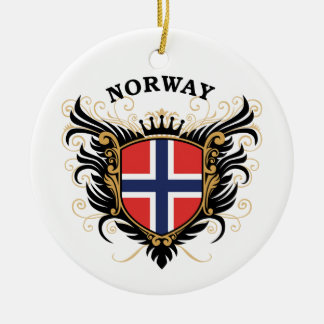 Norway Ceramic Ornament