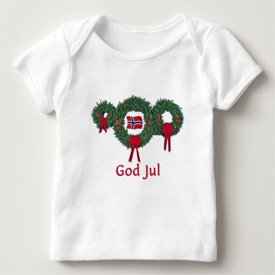 Norway Christmas 2 Baby T-Shirt