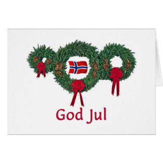 Norway Christmas 2 Cards