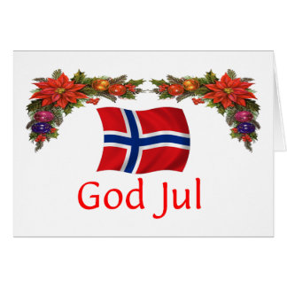 Norway Christmas Card