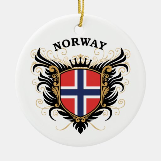 Norway Christmas Tree Ornaments | Zazzle