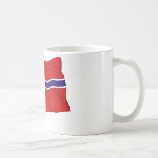 norway classic white coffee mug