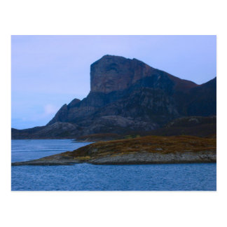 Norway, Cliffs at the mouth of a fijord Postcard