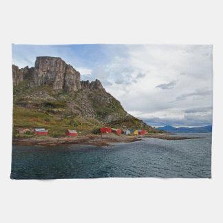 Norway Coast Towel
