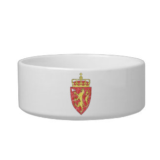 Norway Coat Of Arms Bowl