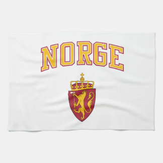 Norway + Coat of Arms Hand Towel