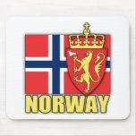 Norway Coat of Arms Mousepads