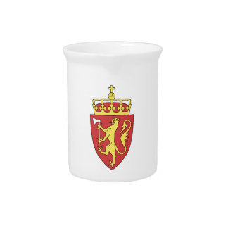 Norway Coat of Arms Pitchers