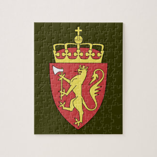 Norway Coat of Arms Jigsaw Puzzle