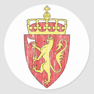 Norway Coat Of Arms Stickers