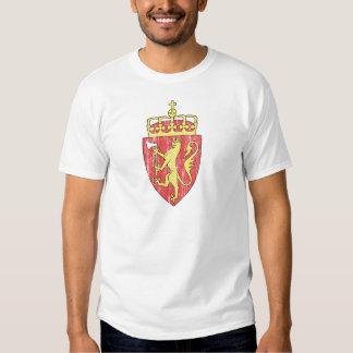 Norway Coat Of Arms Tee Shirt