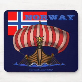 Norway cool mousepad design