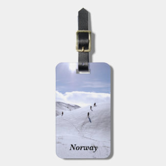 Norway Countryside Luggage Tags