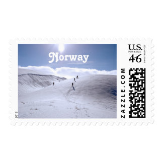 Norway Countryside Postage Stamp