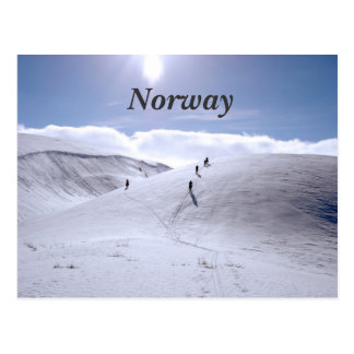 Norway Countryside Postcard