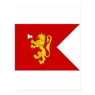 Norway Crown Prince Flag Postcard