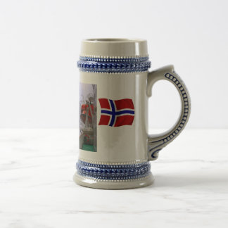 Norway, Cruising the fijord 18 Oz Beer Stein