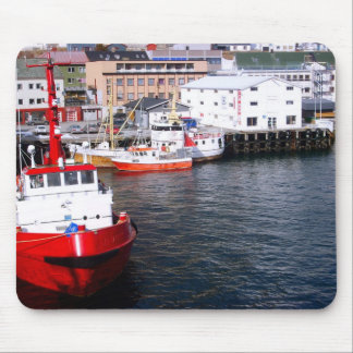 Norway, Deep sea and fjord fishing vessels Mouse Pad