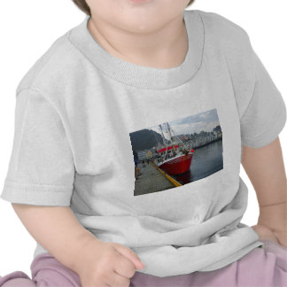 Norway, Deep water fishing vessel in port T Shirt
