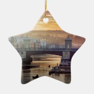 Norway-ew Ceramic Ornament