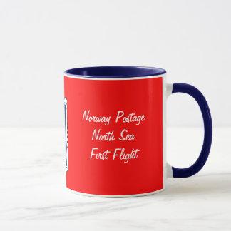 NORWAY- First North Sea Flight Mug