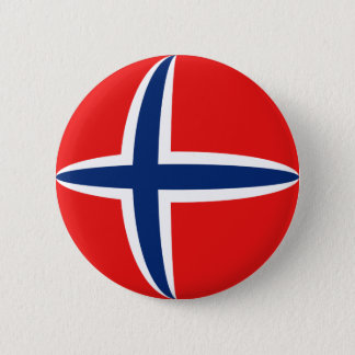 Norway Fisheye Flag Button