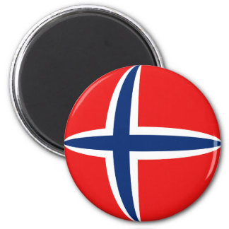 Norway Fisheye Flag Magnet