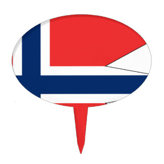 norway-Flag #2 Cake Topper