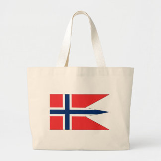 norway-Flag #2 Large Tote Bag