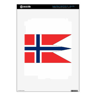 norway-Flag #2 Skin For iPad 3