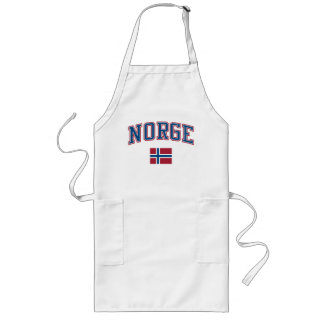 Norway + Flag Long Apron