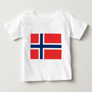 Norway Flag Baby T-Shirt