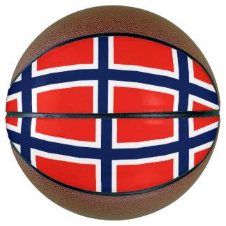 Norway Flag Basketball